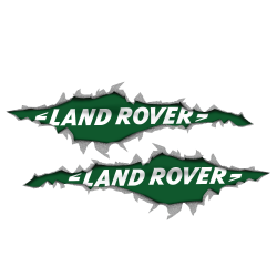 BANDIERA LAND ROVER